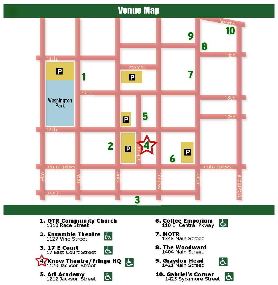 2016 Venue Map